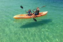 Kayaking the Gulf - rentals nearby