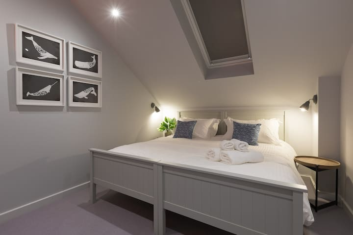 Second bedroom can be made up as a Superking or twin beds