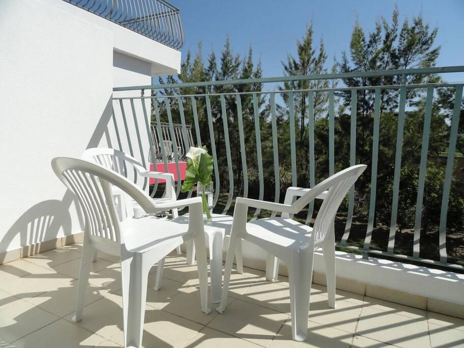 terrace or balcony