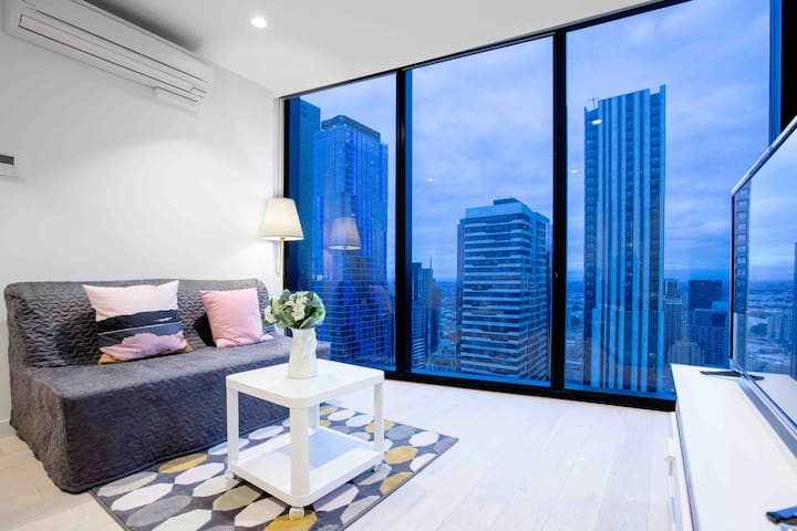 Melbourne City Cozy 2Bedroom with Parking