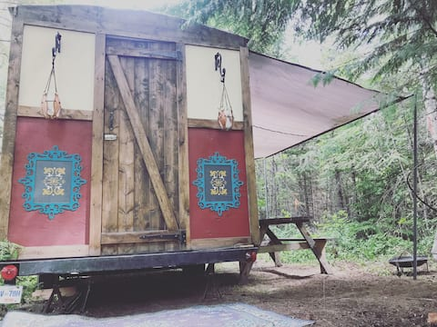 Gypsy Caravan Glamping Experience.