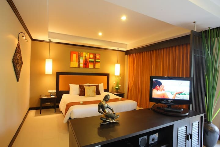 Bold double room in Chaweng Beach - Ko Samui - Apartamento