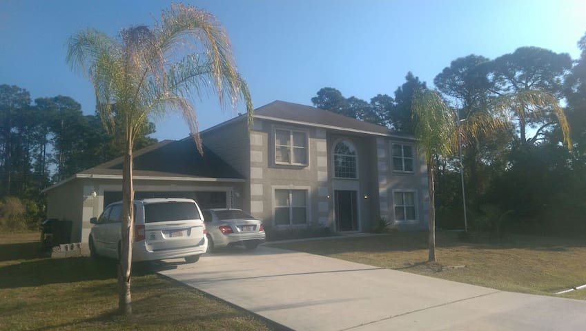 We have two rooms one large & med - Port St. Lucie
