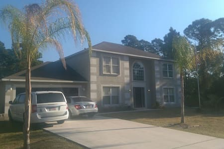 We have two rooms one large & med - Port St. Lucie - Casa