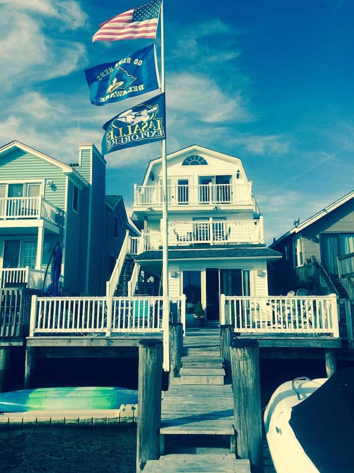 Bayfront Ocean City single family home w/ parking