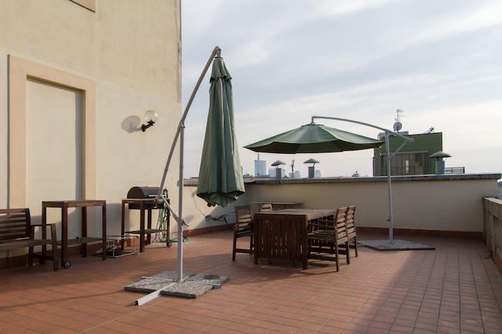 Casa del Fumetto con terrazzo (Maciachini M3)