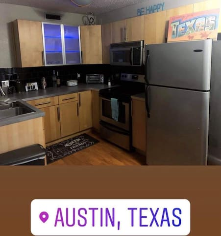 Spacious Austin Apartment