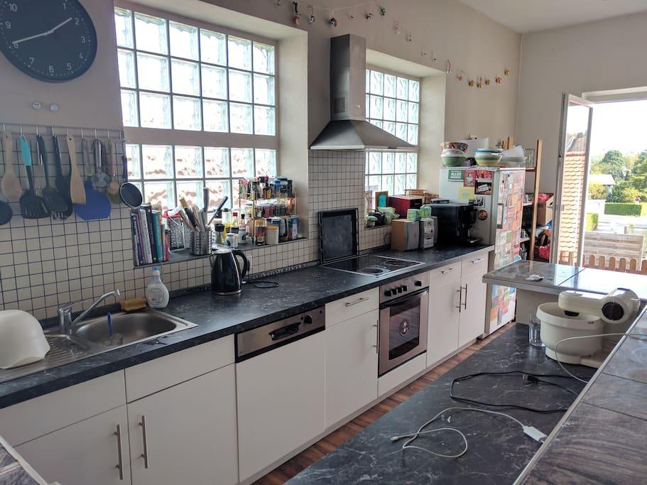 Größe Küche