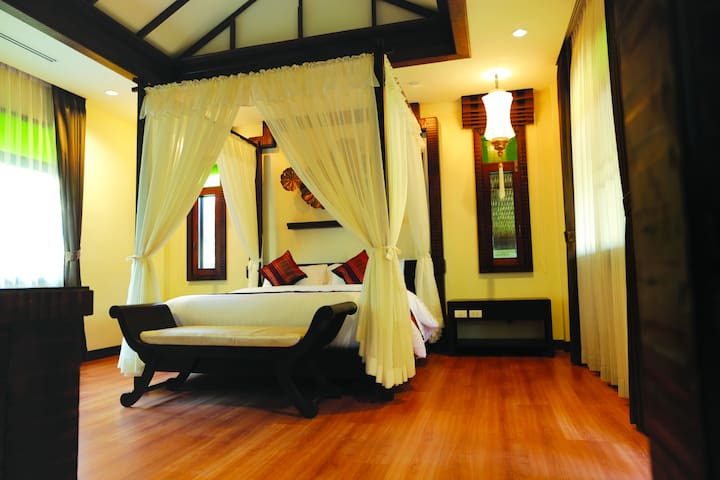 Family Suite (2 Bedrooms)@Hot Springs area - Chiang Mai - Villa