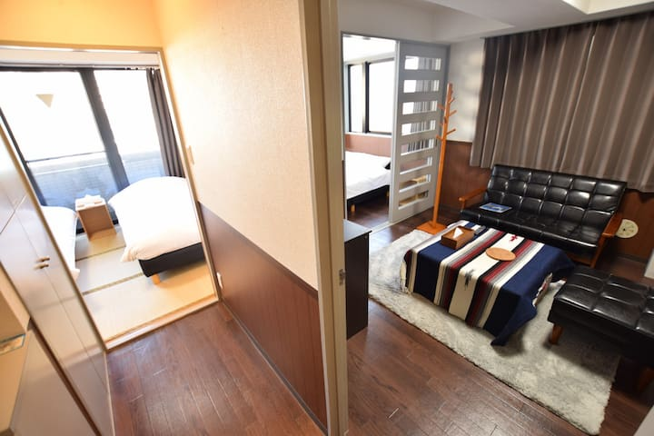 Ueno✦Asakusa area/ 40mins to Narita:Family Room