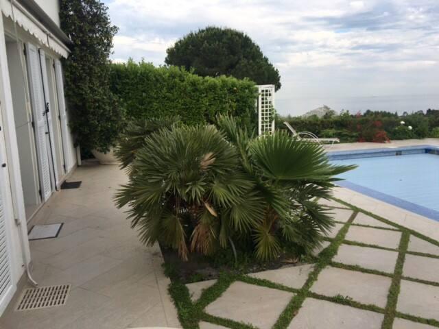 Beautiful luxury villa with sea views