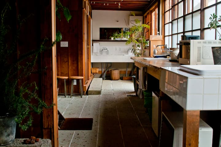 Room in Modern Traditional Boutique Hostel by Fuji