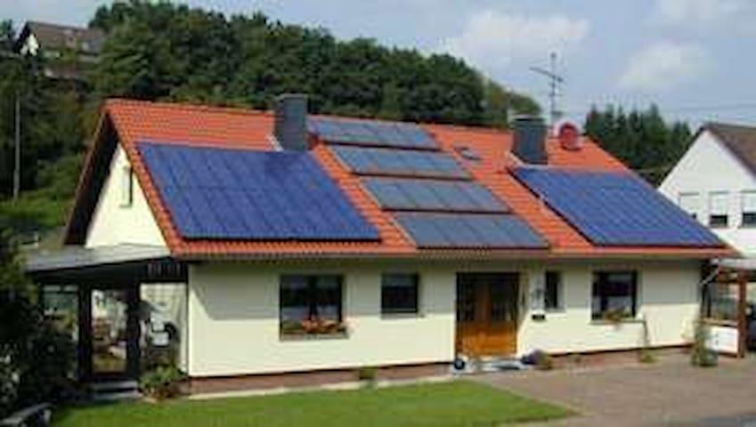 Eifelferienwohnung für 7 Personen in Wimbach