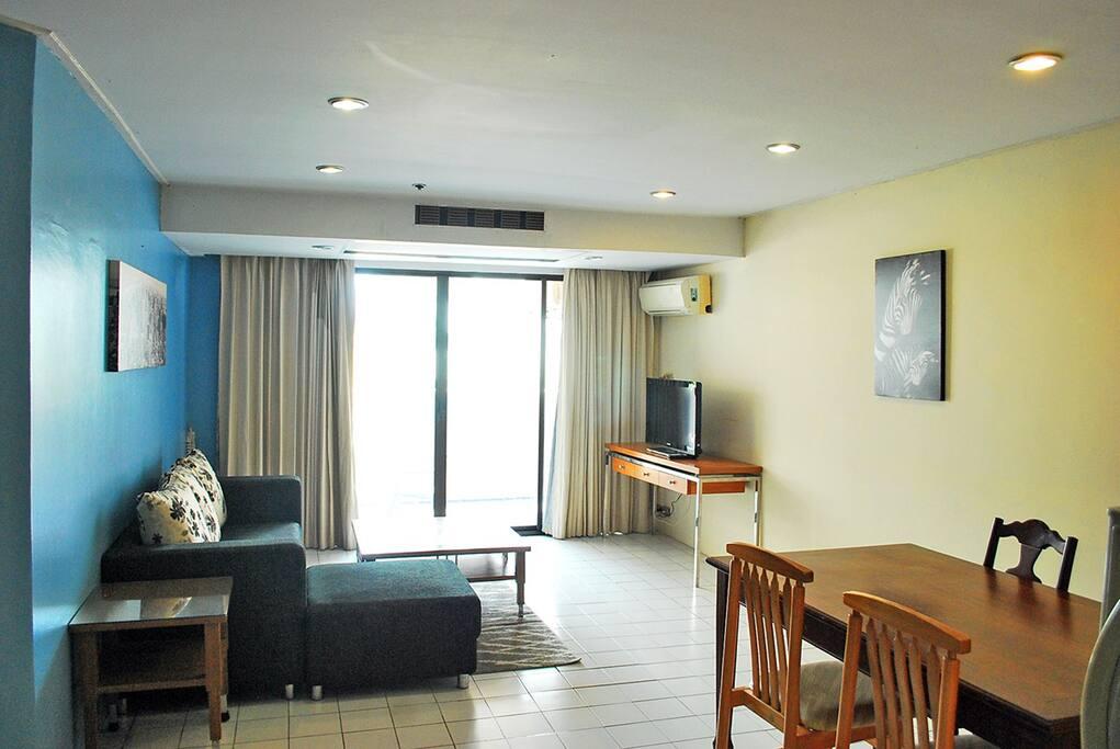 Big spacious living area