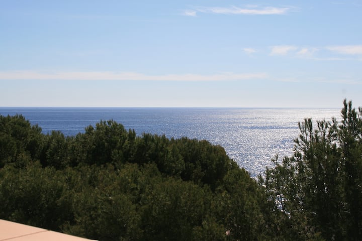Fantastic sea view villa, very tranquil, Cala d'Or