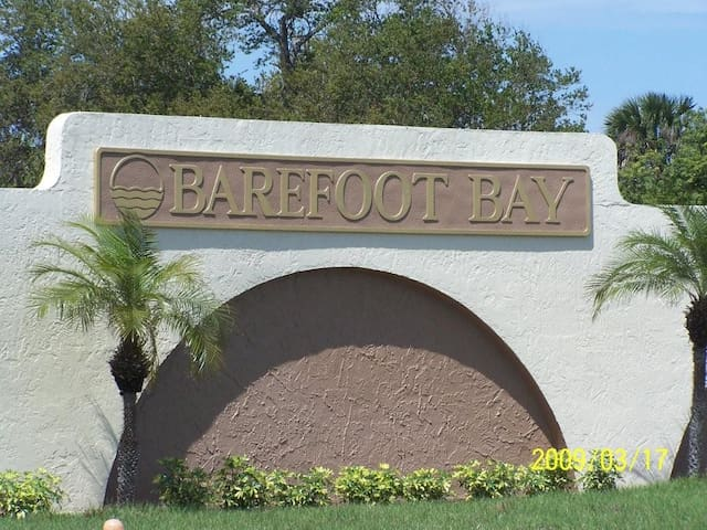 Entire Home in Barefoot Bay, Sebastian Florida