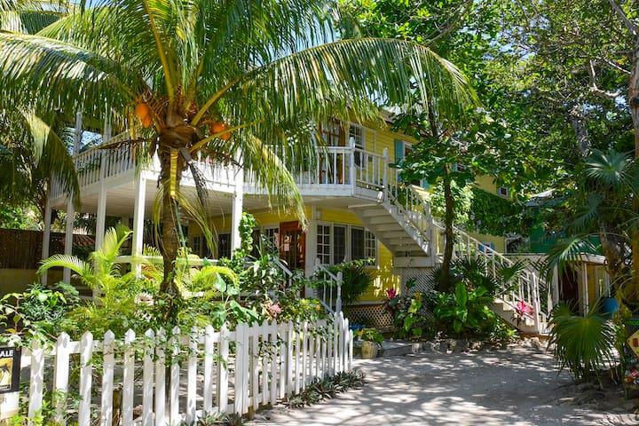 Barefoot Dream Upper - Private beach house on West Bay Beach.