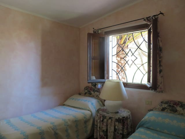 stanza da letto, 2 letti singoli
