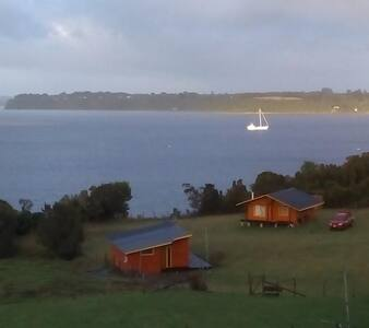 Cabaña a orilla del Mar-Punta Chilen, Ancud-chiloe