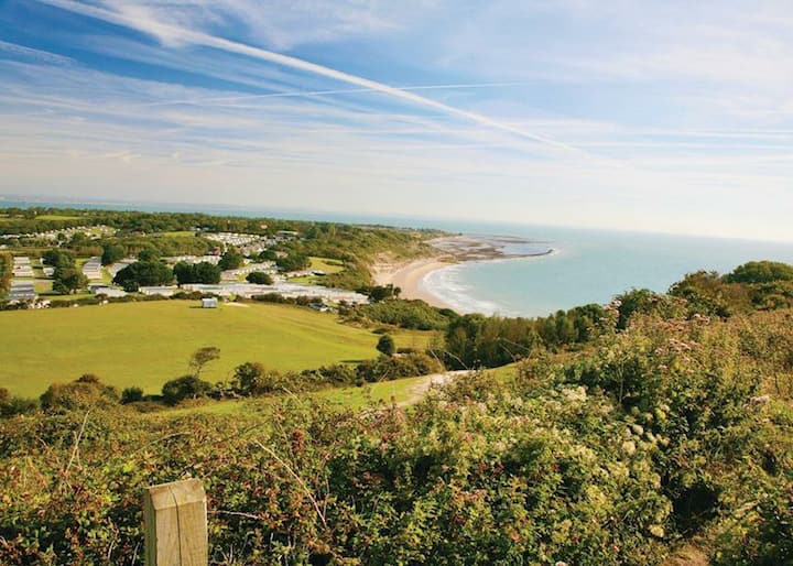 Whitecliff Bay Isle of Wight - Yarborough View 1