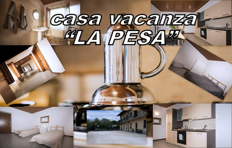 "Holiday House ""LA PESA "" Iseo (BS)"