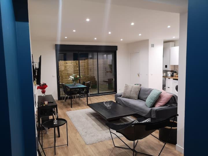 Loft moderne luxe Paris 125m2