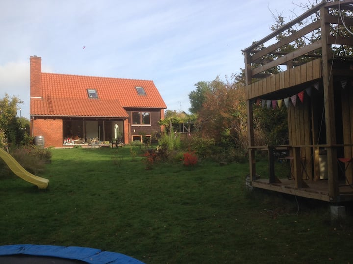 Two family house 20 min from Cph.