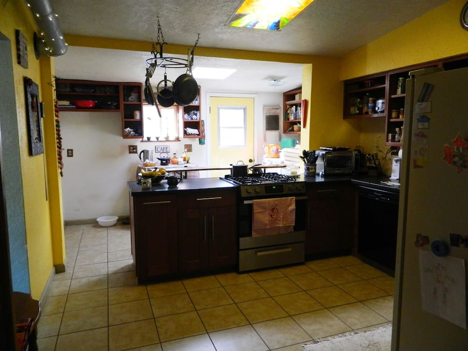 Kitchen from Music Room