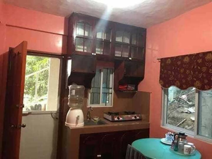 Transient Semi furnish 3rd floor apartment