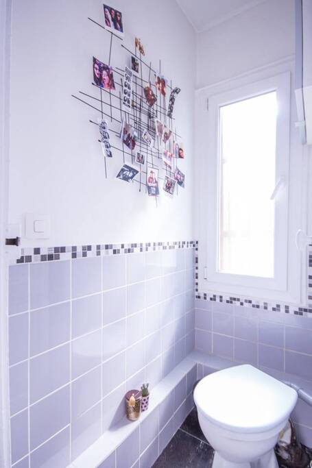 Magnifique logement avec balcon près de Bastille - WC