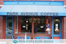 Park Avenue Coffee - Walking distance