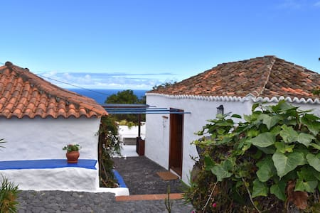 Sitio Abuela, canarian finca with seaview