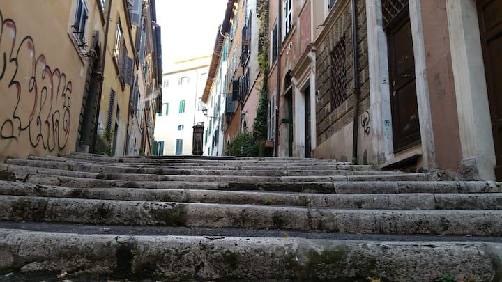 hidden streets for the authentic Rome