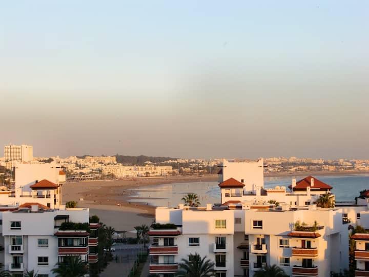 Appartement vue mer Marina Agadir