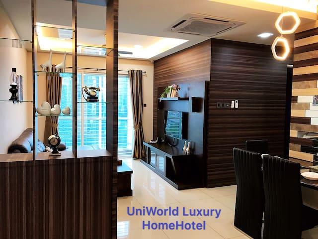 Luxury Designer 2 BR Skysuites, near CIQ/R&F mall