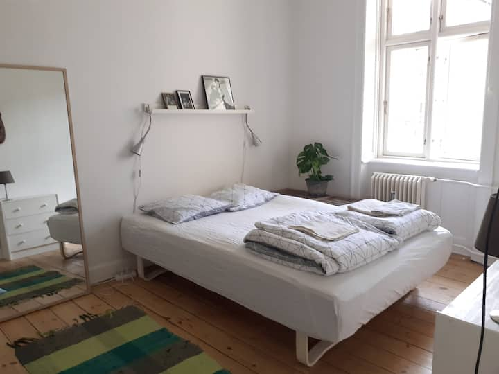 Private bedroom in the heart of Copenhagen