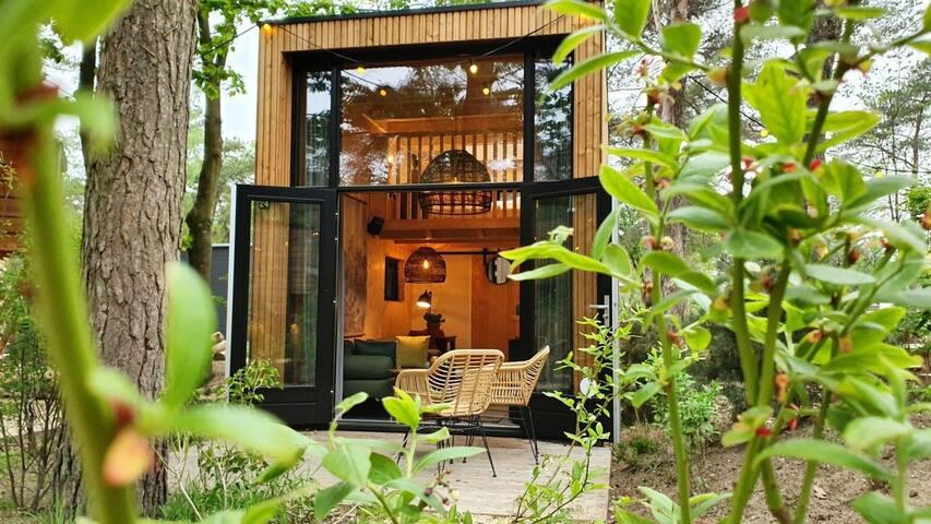 Uniek overnachten in een Tiny House nabij Arnhem!