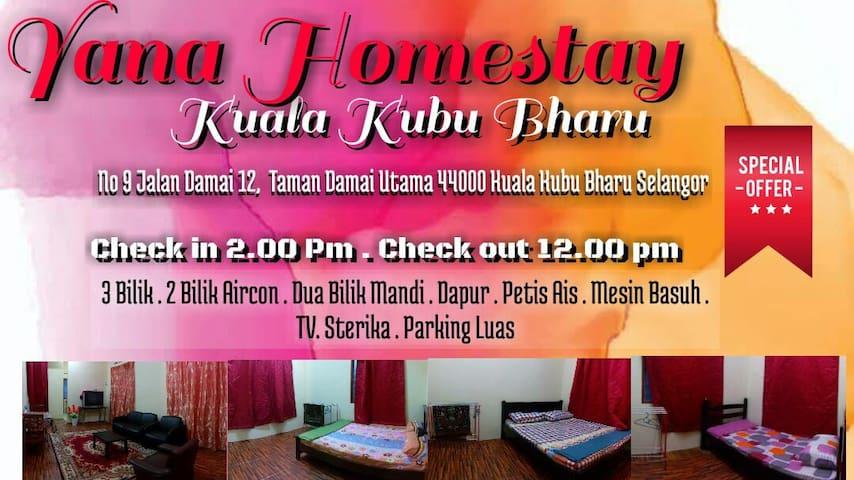 Yana Homestay Kuala Kubu Bharu