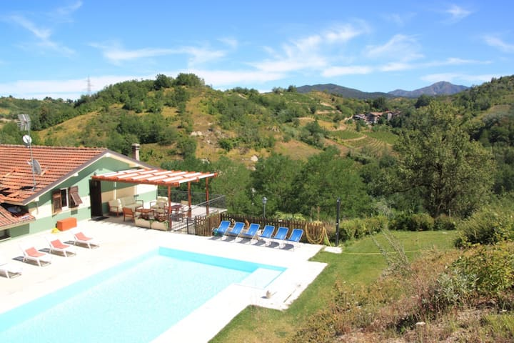 Apartment 'Caprette' Organic farm stay