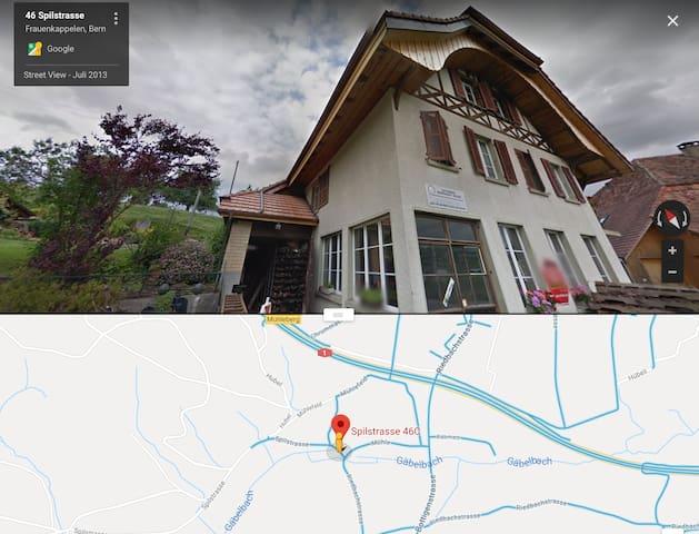 Typische Schweizer-heimelige-Dachwohnung