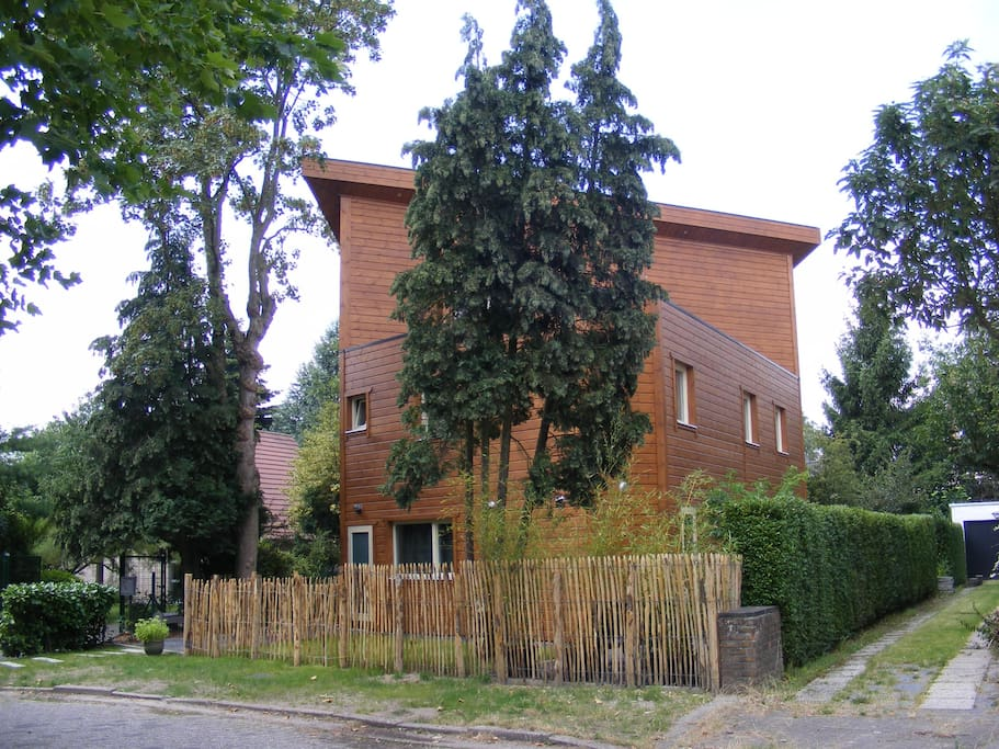 As seen from the street