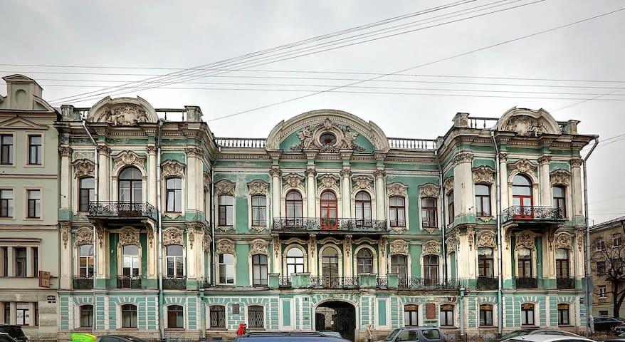 a house of famous Grand Madam Elisabeth Buturlina