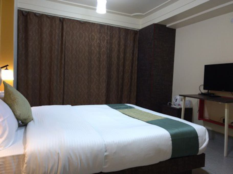 Bedroom 1 with attached washroom & Verandah
