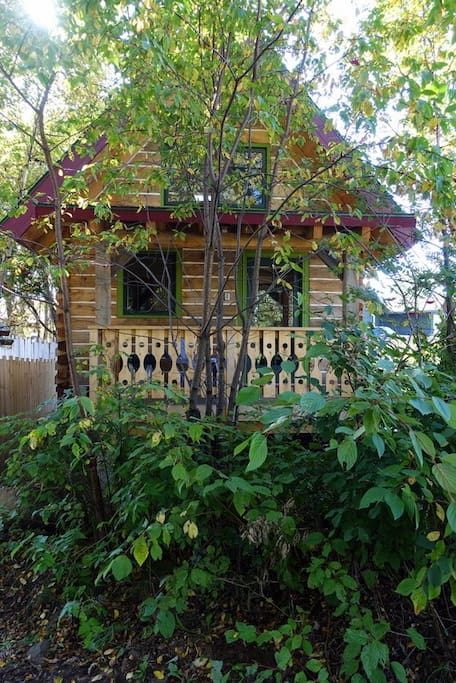 Wooded lot offers excellent privacy
