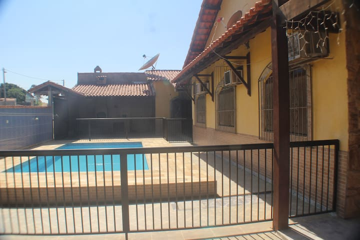 Melhor de Iguaba! casa com piscina e 3 quartos. - Iguaba Grande