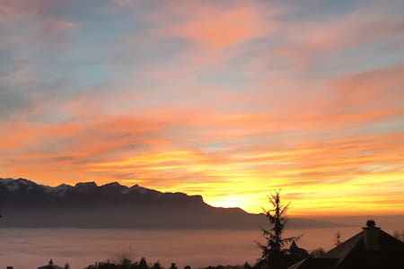 Peaceful Retreat Vevey Montreux - Blonay