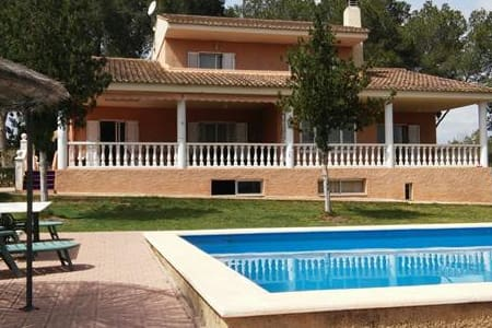 Magnifico chalet independiente con piscina privada - Riba-roja de Túria