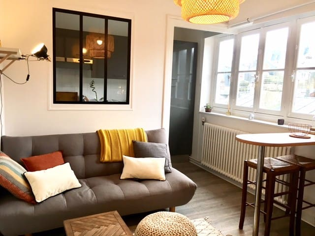 Nice rental near all in Trouville / center & beach