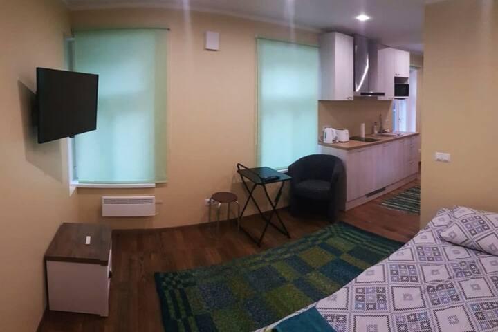 Studio apartment in Karlova