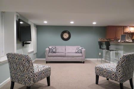 Cozy Guest Suite Mins to Downtown - 워싱턴 - 아파트